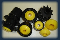 Nylon housings  Sprockets