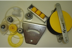 assorted components